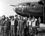 Crew of B-17F Flying Fortress bomber