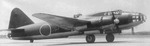 G4M bomber at rest at an airfield, date unknown