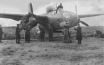 A-20C Havoc bomber in Soviet Air Force service, date unknown, photo 1 of 2