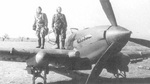 Pilot and gunner of an Il-2 Sturmovik aircraft, date unknown