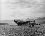 Ju 52/3m aircraft of Eurasia airline, a subsidiary of Lufthansa, at rest in China, 1935-1941