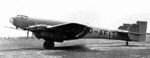 Ju 89 prototype heavy bomber at rest, Apr 1937, photo 1 of 2