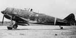 Ki-44 fighter taxiing, date and location unknown