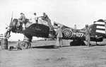 Captured Ki-55 aircraft in Chinese markings, date unknown