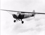 L-2 Grasshopper aircraft in flight, May 1942-Jun 1943