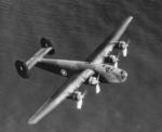 An American-built B-24 Liberator bomber en route to the United Kingdom as part of the Lend-Lease program, 18 Nov 1940
