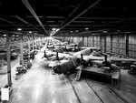 B-24 bombers under construction at Ford Motor Company