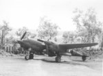 P-38G Lightning escort fighter at Jackson Field, Port Moresby, New Guinea, 1942