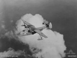 PBM Mariner aircraft of Flight Lieutenant Fox, No. 41 Squadron RAAF, in flight from Townsville, Australia to Port Moresby, New Guinea, 21 Sep 1944