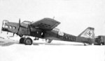 Captured MB.200 bomber in German markings, 1940s