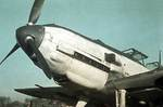 Close up of a Bf 109