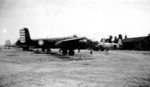 B-25 bombers of 4th Bombardment Squadron, 1st Bombardment Group, Chinese-American Composite Wing (Provisional) at Zhijiang Airfield, Hunan, China, 1943-1945