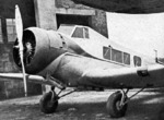 MT-1 Hayabusa aircraft at rest, date unknown