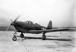 P-63A Kingcobra aircraft at rest, Aug 1943-Aug 1945