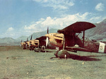 Ro.37 Lince aircraft of the Italian 39th Squadron in Bulgaria, 1942, photo 1 of 2