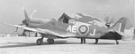 Canadian Spitfire F. MK XIV fighter of the 402 Squadron RCAF, date unknown