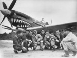 Australian pilots of the No. 457 Squadron