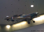 Spitfire and Hurricane fighters on display at the San Francisco International Airport, California, United States, 2 Oct 2010, photo 2 of 2