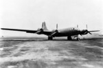 XB-29 prototype aircraft 41-002, the first B-29 aircraft made, circa 1942
