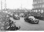 Adolf Hitler parading in Vienna in occupied Austria, 14 Mar 1938