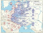 Map depicting Operation Bagration, 22 Jun-19 Aug 1944