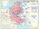 Map of Operation Barbarossa, 22 Jun to 25 Aug 1941