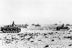 German tanks near Sollum, Egypt, circa 16 Jun 1941