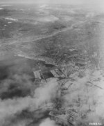 Aerial view of Tokyo, Japan after the 9 Mar 1945 raid, circa 10-15 Mar 1945; photo 1 of 3