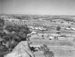 Aerial view of No. 12 Prisoner of War compound near Cowra, NSW, Australia, circa 1944