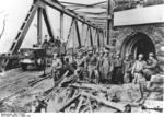 Americans at the Remagen Bridge, Germany, 8-10 Mar 1945