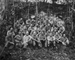 US 1st Marine Division staff at Guadalcanal, Solomon Islands, Aug 1942