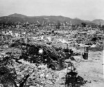 Hiroshima, Japan in ruins, 1945