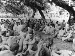 American soldiers resting during the Bataan death march, May 1942, photo 3 of 3