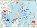 Map showing Japanese offensives in Dec 1941