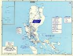 Map noting American dispositions at Luzon, Philippine Islands on 8 Dec 1941