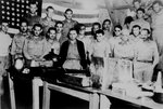 American prisoners of war celebrated American Independence Day in Casisange prison camp at Malaybalay, Mindanao, against Japanese regulations, 4 Jul 1942