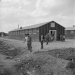 Block 8 general store, Jerome War Relocation Center, Arkansas, United States, 17 Nov 1942