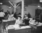 Staff of the property control section of Jerome War Relocation Center, Arkansas, United States, 19 Nov 1942