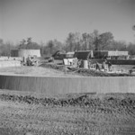 Construction of the sewage disposal plant at Jerome War Relocation Center, Arkansas, United States, 14 Nov 1942, photo 2 of 5