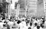 Members of the Taiwanese Association of Hankou, Hubei Province, China celebrating WW2 victory, Aug-Sep 1945