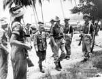 Lieutenant General Masao Baba en route to the official surrender ceremony, Labuan, Borneo, 10 Sep 1945, photo 2 of 3
