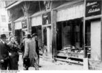 Jewish business destroyed during Kristallnacht, Magdeburg, Germany, 9 Nov 1938, photo 3 of 3