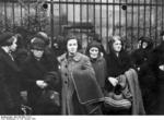 Polish-German Jews being gathered for deportation, Nürnberg, Germany, 28 Oct 1938, photo 2 of 3