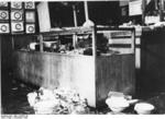 Damage to the Uhlfelder department store in Munich, Germany after Kristallnacht, 10 Nov 1938, photo 2 of 4