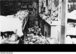Damage to the Uhlfelder department store in Munich, Germany after Kristallnacht, 10 Nov 1938, photo 3 of 4