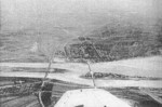 Aerial view of Lugou Bridge, Beiping, China, circa late 1937; photograph taken from a Japanese aircraft