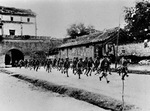 Chinese troops in Wanping Fortress, Beiping, China, Jul 1937