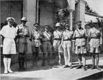 British and South Africa officers at Diego-Suárez, Madagascar, mid-May 1942