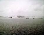 Naval bombardment on Guam, circa 15-20 Jun 1944