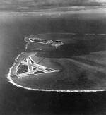 Aerial photograph of Midway Atoll, 24 Nov 1941